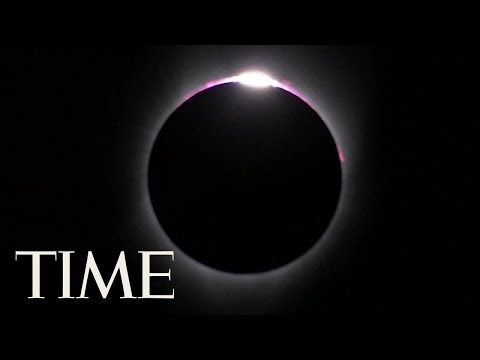 See The Moon's Shadow Sweeping Across The Earth During The Solar Eclipse In 4K | 360 Video | TIME