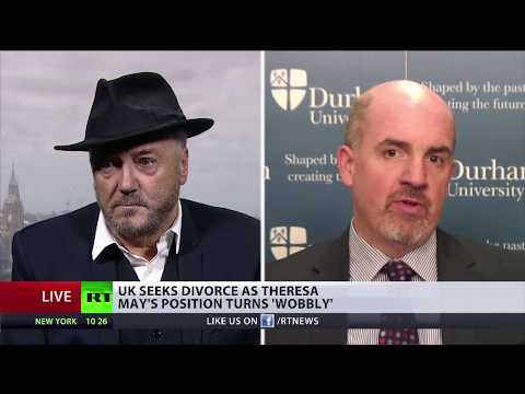 """Two thirds of Brits accept #Brexit"" Galloway/Brooks debate"