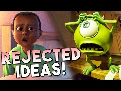 Thumbnail: 11 Ideas REJECTED From Monsters Inc! | Pixar Plot Twists #11