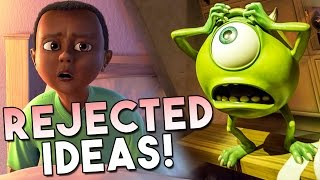 11 Ideas REJECTED From Monsters Inc! | Pixar Plot Twists #11