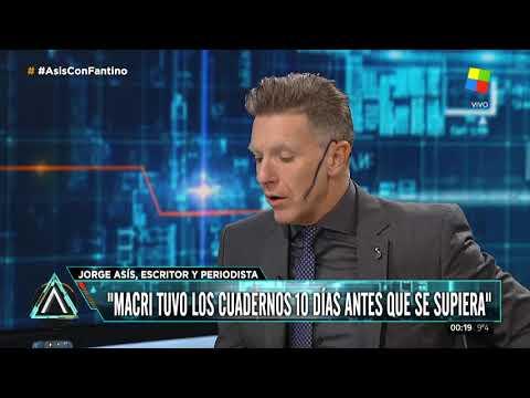 Jorge Asís:Macri tuvo los cuadernos, por lo menos, 10 días antes