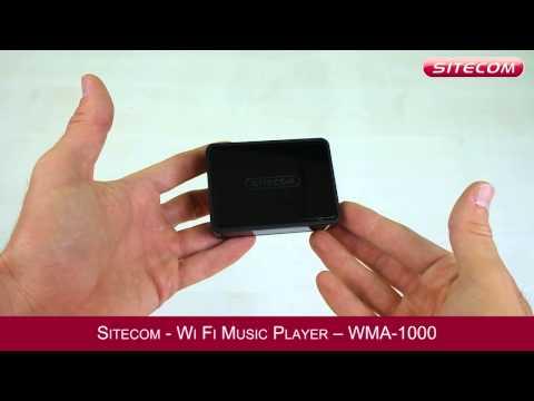Sitecom Wi Fi Music Player - WMA 1000