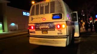 MTA New York City Bus: RTS NovaBus #9112 Q17 Limited @ 188th Street & Horace Harding Expressway!