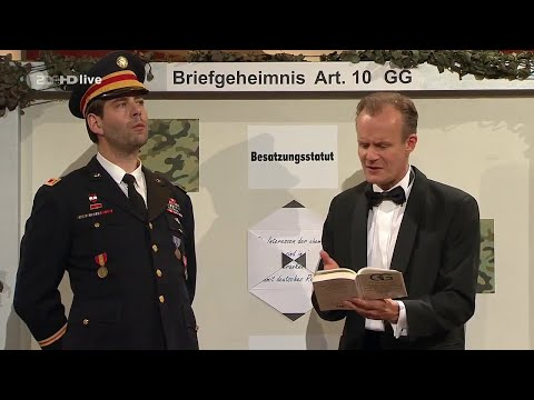 Die Anstalt: Auf deutschem Boden gilt deutsches Recht 26.05.2015 ZDF - Bananenrepublik