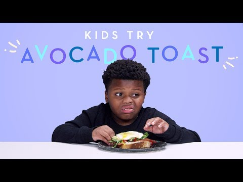 Kids Try Avocado Toast | Kids Try | HiHo Kids