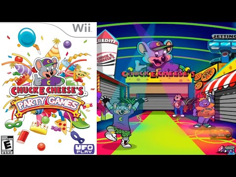 Chuck E. Cheese's Party Games [16] Wii Longplay