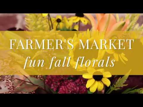 Syndicate Sales | Farmer's Market Fun Fall Floral Recipe