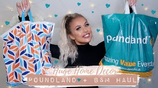 HUGE POUNDLAND/B&M BARGAIN HOME DECOR HAUL! Gemma Louise Miles