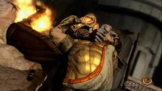 God Of War 3: Kratos vs. Helios battle