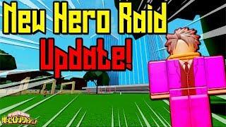[NEW CODE!] NEW HERO RAID MODE!? | BOKU NO ROBLOX REMASTERED!? | ROBLOX | NEW UPDATE!