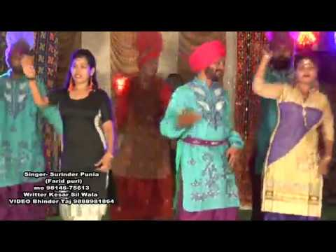 Singer surinder punia da song