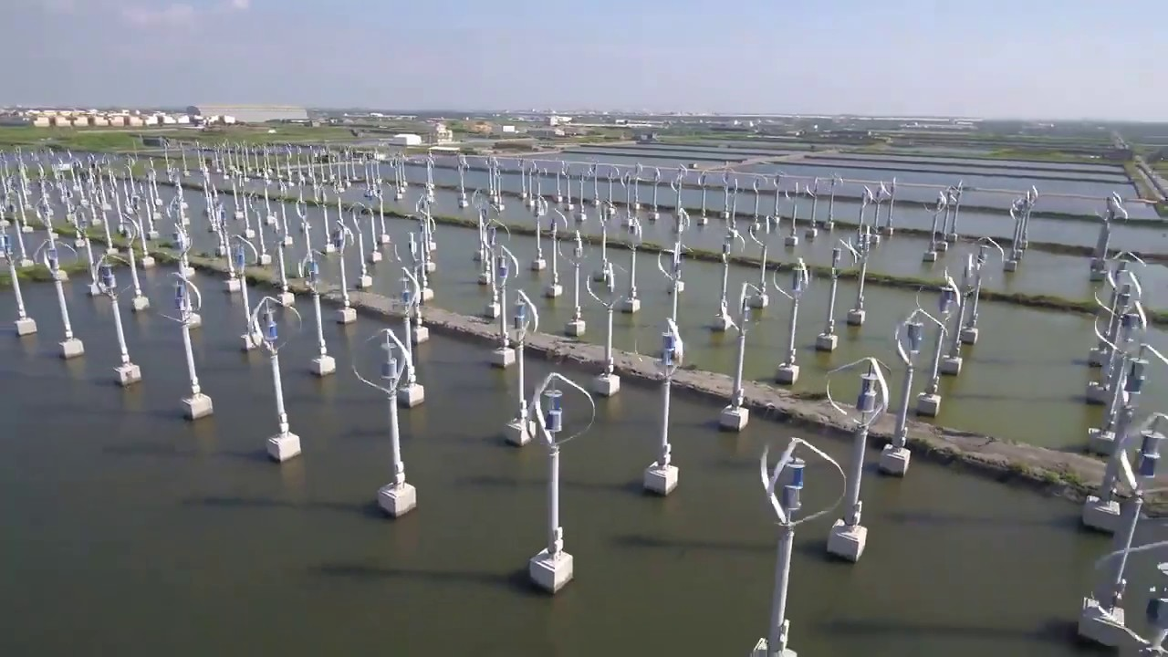 Wang Gong Micro Wind Turbine Farm on Green Energy Adventures with the Turbine Guy