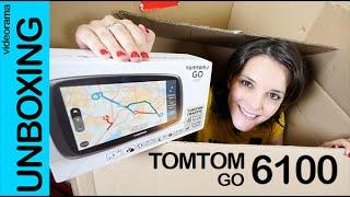 TomTom Go 6100 unboxing review en español