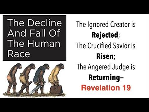 GOD EXPLAINS--THE DECLINE \u0026 FALL OF THE HUMAN RACE