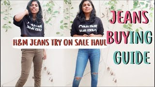 H&M jeans just Rs 500? Tips for Buying Best Fitting Jeans - Jeans Buying Guide for Girls | AdityIyer