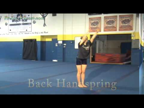 Video Guide to Cheerleading Tumbling Moves - Tumbling for dance - Tumbling for  gymnastics