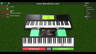 Roblox Piano | I Don't Wanna Live Forever