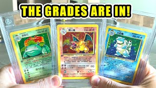 *IS MY CHARIZARD POKEMON CARD $25,000?!* My BGS Graded Cards Are Back!
