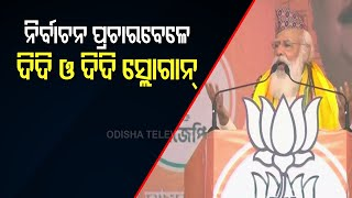 PM Modi's Didi-O-Didi Remarks Gets Rousing Support In Bengal