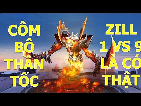 Zill đi rừng 1 VS 9 đồng đội AFK + FEED với combo siêu nhanh đi hack mạng mùa 16 Liên quân mobile