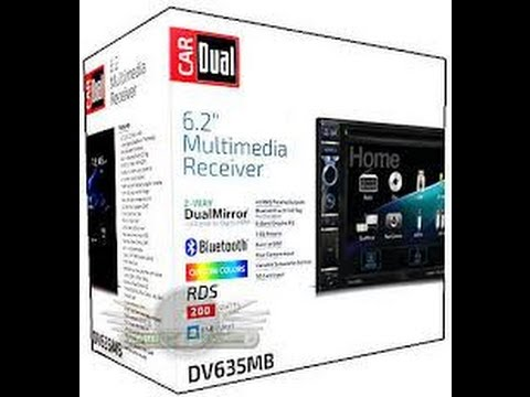 Dual DV635MB Bluetooth DVD HDMI Mirrorlink 6.2 Inch Receiver Review