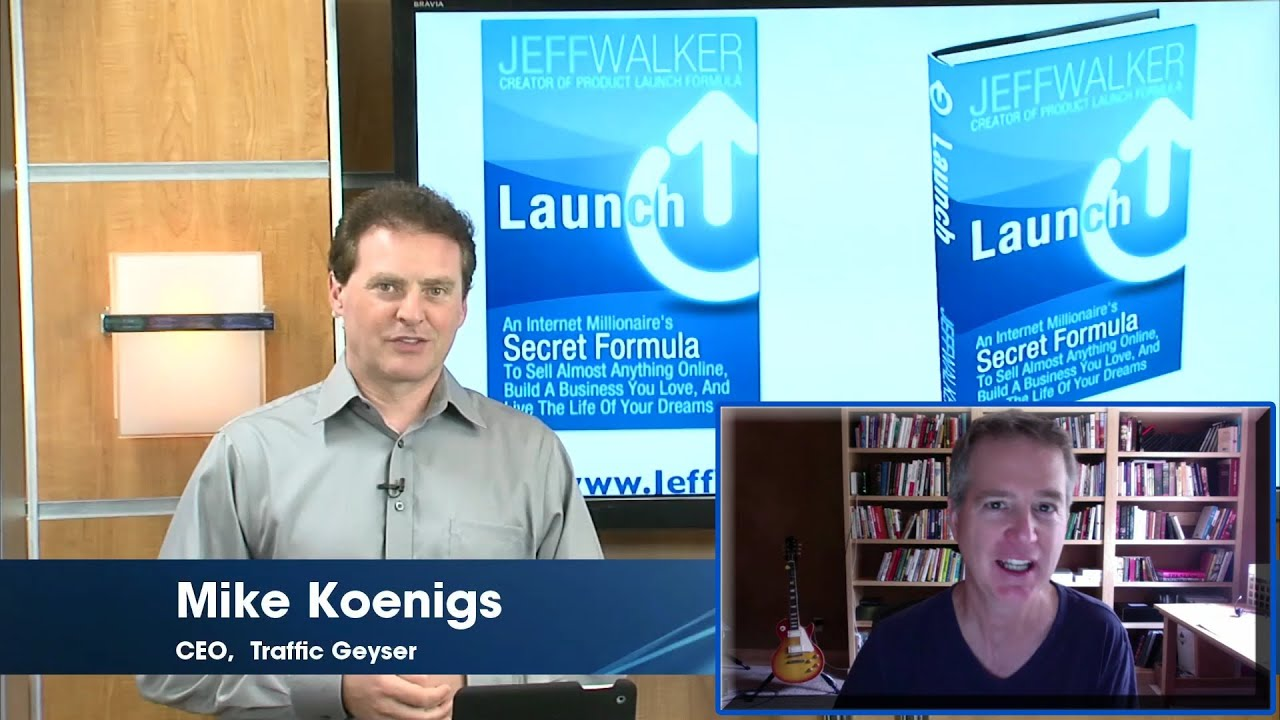 Jeff walker launch interview how to promote and market a jeff walker launch interview how to promote and market a bestselling book malvernweather Choice Image