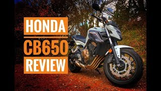 2018 Honda CB650F Review