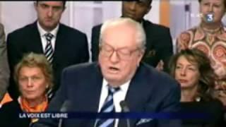 Jean-Marie Le Pen refroidit deux journalistes