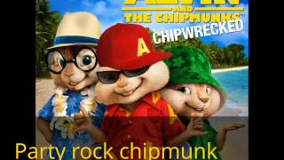 party rock anthem chipmunk version