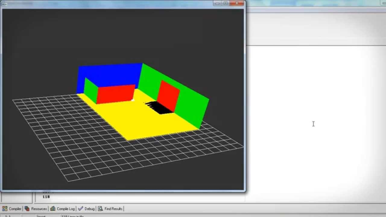 Simple 3d Modeling Program Opengl Tutorial Youtube