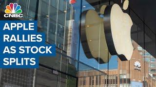Bull case for Apple as the 4-1 stock split takes effect