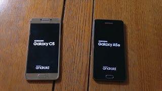 Samsung Galaxy C5 vs A5 2016 - Why Snapdragon Sucks!