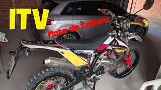 ITV moto de Enduro. Cosas que debes saber. Gas Gas EC 250
