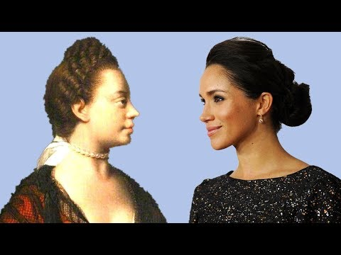Before Meghan Markle.  Who is black Queen Charlotte?