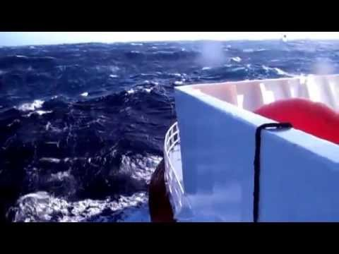 MH370 Underwater Search: Winter weather aboard the Fugro Discovery 2016
