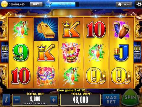 PARTY IN RIO Video Slot Casino Game with a FREE SPIN BONUS