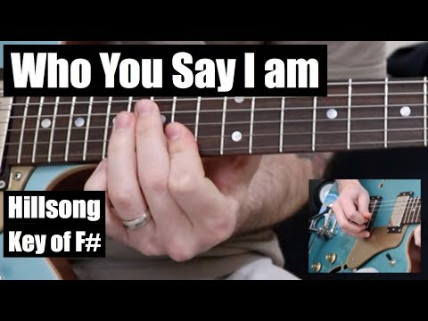 Who You Say I Am | STANDARD TUNING | Lead Guitar