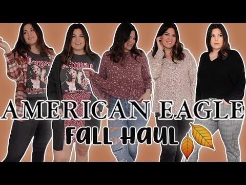 FALL 2020 CURVY AMERICAN EAGLE TRY ON HAUL