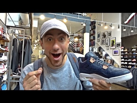 Trading A Paperclip For Jordans!!