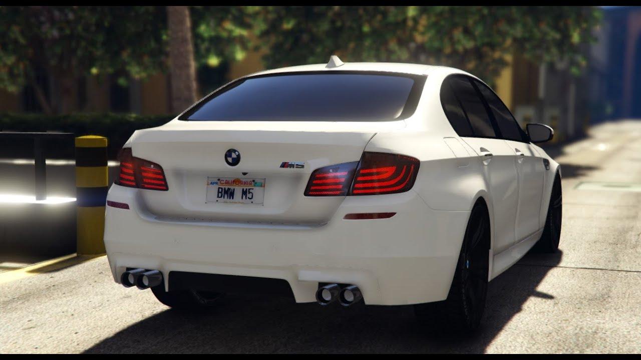 GTA V | BMW M5 F10 - 2012 | PC MOD - YouTube