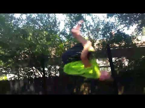 Awesome trampoline flips