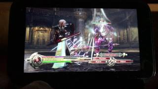 GPD WIN - Final Fantasy Xlll : Ligthning Returns - PC Gameplay
