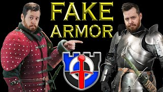 The most REALISTIC FAKE ARMORS ever made! Seriously, you will be fooled!
