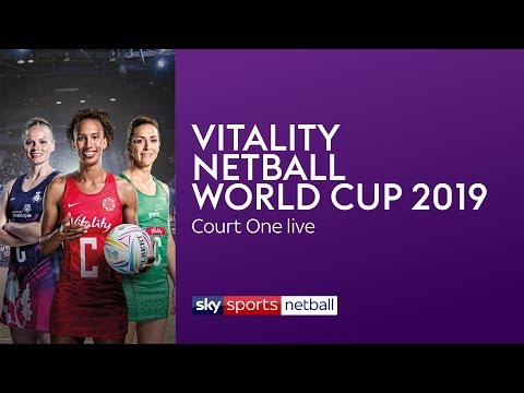 Watch the Vitality Netball World Cup on YouTube