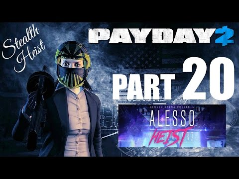 PAYDAY 2! - Gameplay/Walkthrough - Part 20 - It's Time To Be Quiet Again!