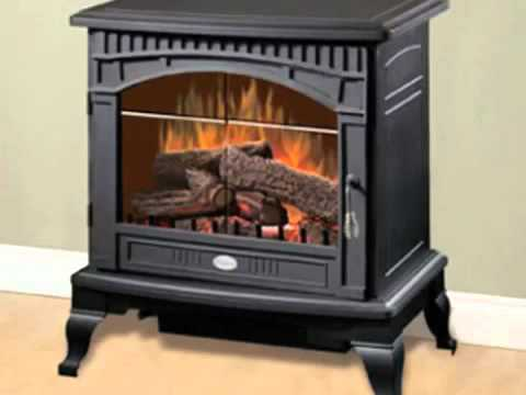 Dimplex Lincoln Freestanding Electric Fireplace Stove DS5629 - YouTube