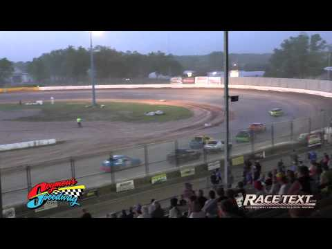 Seymour Speedway - July 13, 2014 - 4 Cylinder feature