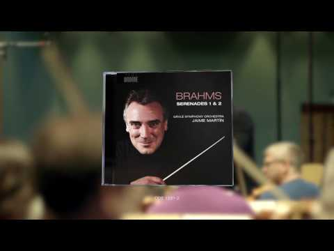 Jaime Martín discusses their new Brahms recording with the Gävle Symphony Orchestra