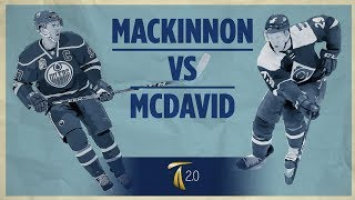 Hockey Acceleration - MacKinnon vs McDavid (Breakdown)
