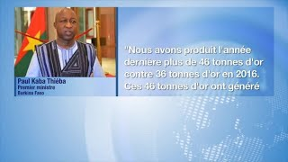 Burkina faso, SUCCÈS DU SECTEUR MINIER